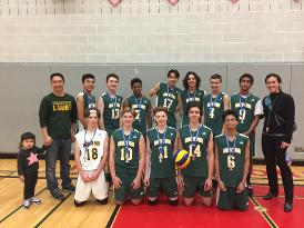 Jr. Boy's Volleyball - AA South Champions